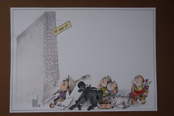 Cười đời, đời cười ở loạt tranh biếm họa cúp Rồng Tre - Ảnh 4.