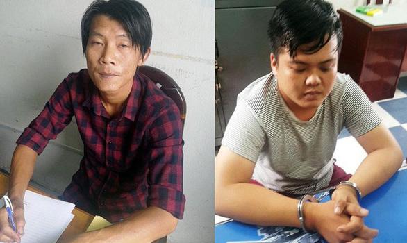 Bắt 2 nghi can cướp Ngân hàng An Bình tại Sài Gòn - Ảnh 1.