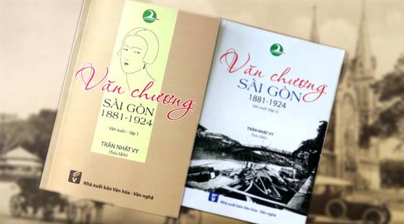 Để không lãng quên văn chương Sài Gòn - Ảnh 1.