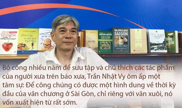 Để không lãng quên văn chương Sài Gòn - Ảnh 3.