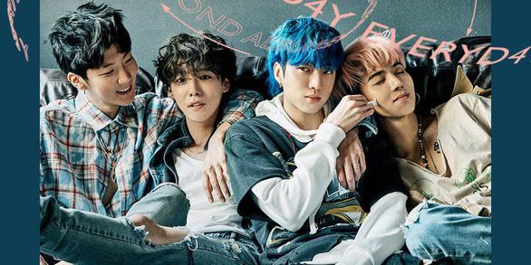 Everyd4y của WINNER đứng đầu 6 bảng xếp hạng chính của K-pop - Ảnh 3.