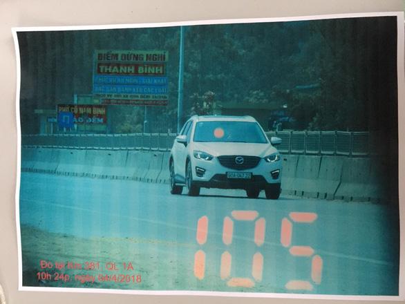 Cảnh sát giao thông Thanh Hóa phủ nhận chuyện làm khó người vi phạm - Ảnh 2.