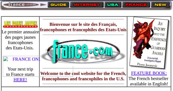 Chính phủ Pháp bị kiện vì địa chỉ website 'France.com' - Ảnh 1.