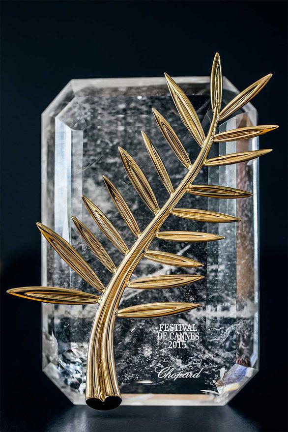 Cành Cọ Vàng 24 carat và 71 bộ nữ trang cho Cannes lần thứ 71 - Ảnh 1.