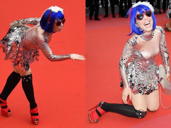 Dàn người đẹp vô danh và phản cảm trên thảm đỏ Cannes - Ảnh 6.