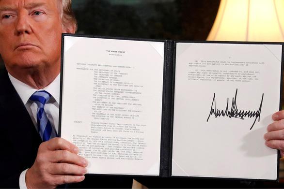 Mỹ rút khỏi thỏa thuận hạt nhân Iran: Không bất ngờ! - Ảnh 1.