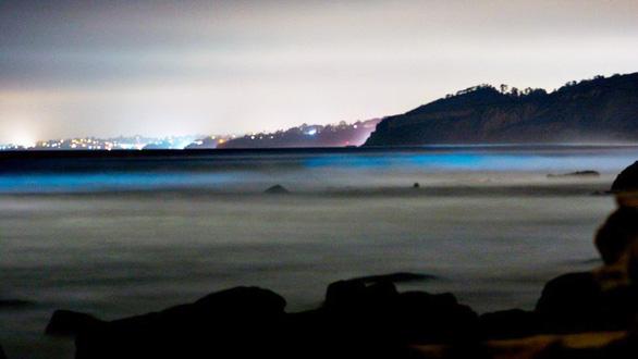 Đi canh sóng biển ma quái phát sáng trong đêm - Ảnh 6.