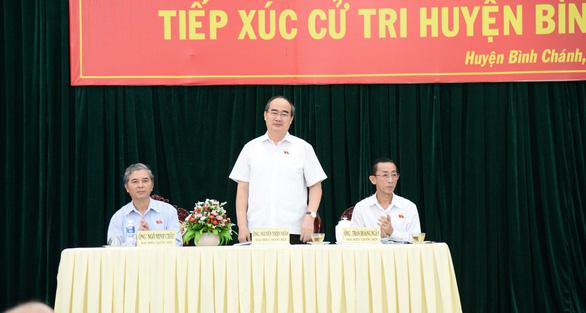 Bí thư Nguyễn Thiện Nhân hứa gặp dân Thủ Thiêm sau họp Quốc hội - Ảnh 1.