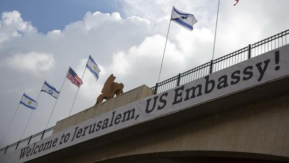 Chiều nay Mỹ khánh thành đại sứ quán mới ở Jerusalem  - Ảnh 3.