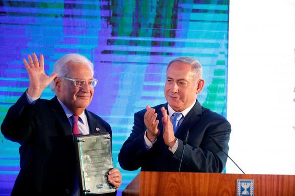 Chiều nay Mỹ khánh thành đại sứ quán mới ở Jerusalem  - Ảnh 1.