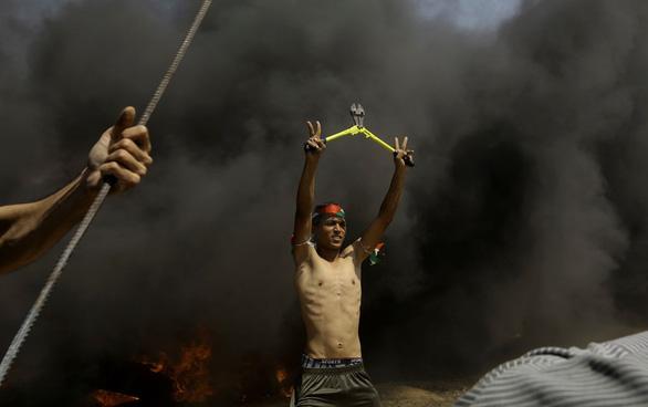 Người Palestine rùng rùng biểu tình chống Mỹ mở đại sứ quán ở Jerusalem - Ảnh 2.