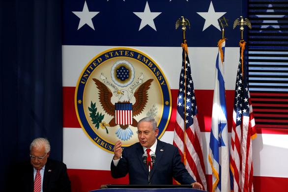 Ông Trump được ca tụng ngất trời ở Jerusalem - Ảnh 1.