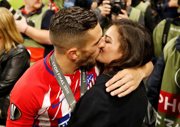 Atletico Madrid ăn mừng chức vô địch Europa League - Ảnh 6.