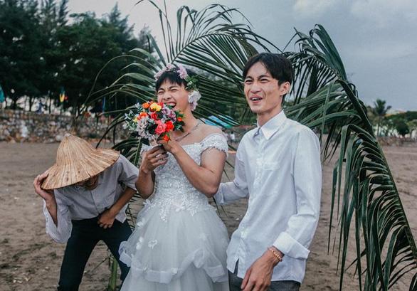 Ảnh kỷ yếu phong cách 'đám cưới miền quê' của teen Hải Phòng - Ảnh 5.