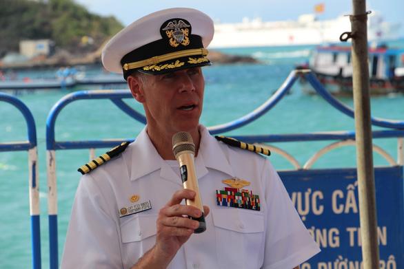 Siêu bệnh viện USNS Mercy của Hải quân Mỹ đến Nha Trang - Ảnh 3.