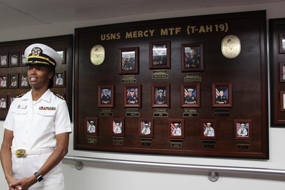 Siêu bệnh viện USNS Mercy của Hải quân Mỹ đến Nha Trang - Ảnh 22.