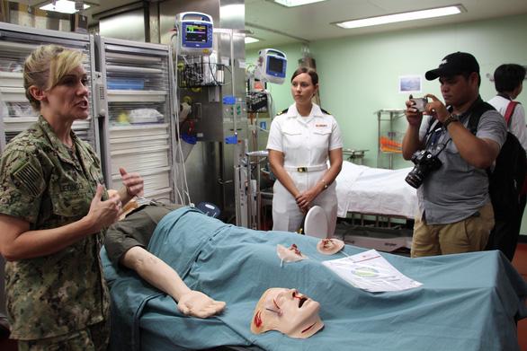 Siêu bệnh viện USNS Mercy của Hải quân Mỹ đến Nha Trang - Ảnh 28.
