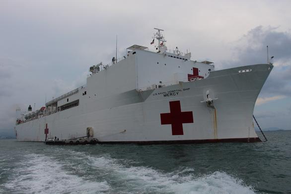 Siêu bệnh viện USNS Mercy của Hải quân Mỹ đến Nha Trang - Ảnh 8.