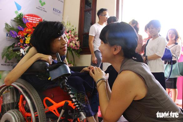 Hạt mầm ước mơ cho người khuyết tật - Ảnh 1.