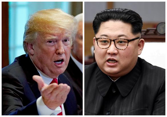 Ông Trump xoa dịu ông Kim Jong Un trước thượng đỉnh - Ảnh 1.