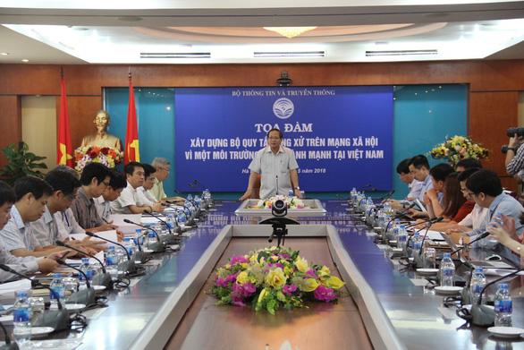 Cần bộ quy tắc ứng xử cho 55 triệu người dùng mạng xã hội Việt Nam - Ảnh 1.