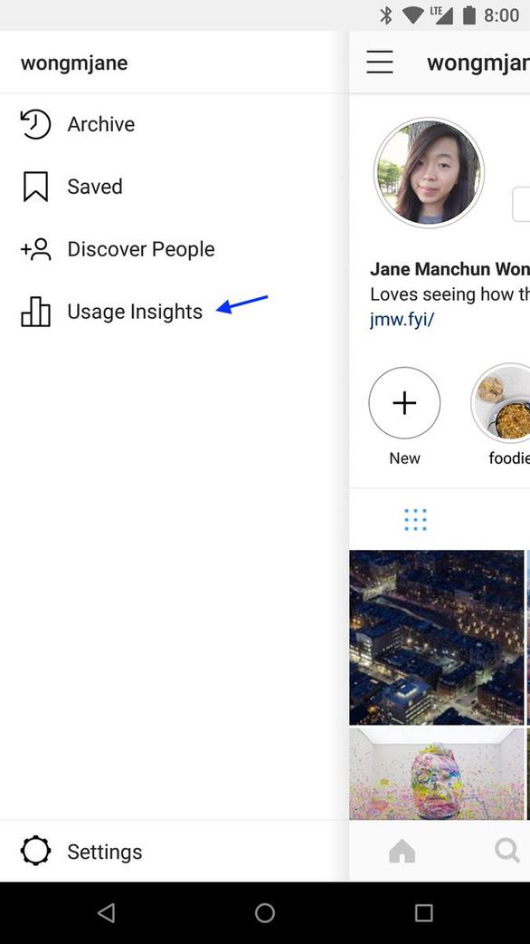 Instagram sắp cấp tính năng 'đo' mức nghiện mạng xã hội - Ảnh 2.