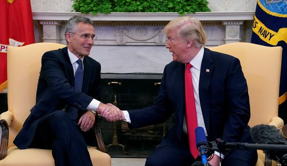 Mỹ đòi xử các quốc gia không góp đủ tiền cho NATO - Ảnh 1.