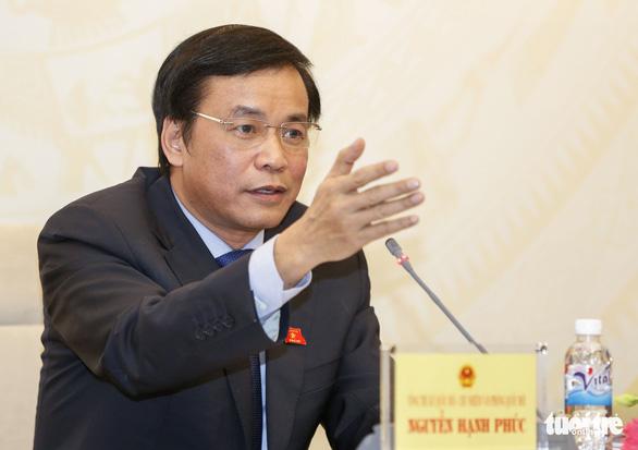 Trường hợp ĐBQH Đinh Thế Huynh: Bộ Chính trị có ý kiến mới xem xét - Ảnh 1.