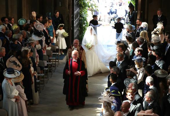 Những khoảnh khắc đẹp nhất của đám cưới Hoàng gia - Ảnh 5.