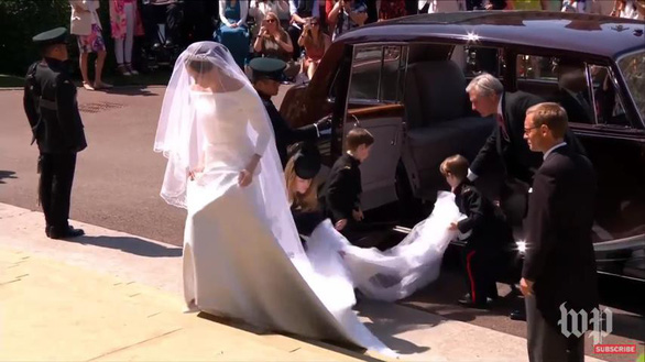 Những khoảnh khắc đẹp nhất của đám cưới Hoàng gia - Ảnh 9.