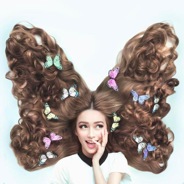 Cô gái gốc Việt gây sốt vì mái tóc như Công chúa tóc mây - Ảnh 4.