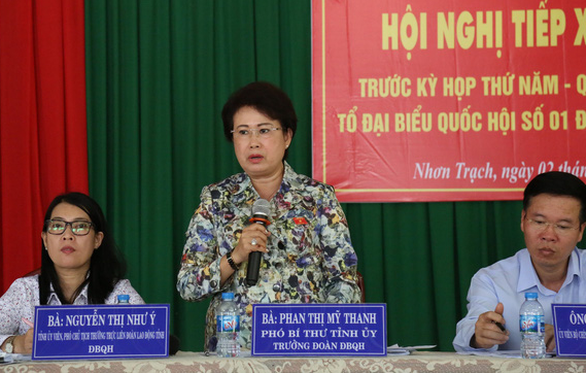 Ông Võ Văn Thưởng: Sẽ xử lý đúng vi phạm của bà Phan Thị Mỹ Thanh - Ảnh 1.
