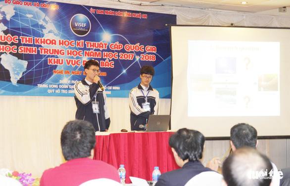 Học sinh Nghệ An bị từ chối cấp visa sang Mỹ dự thi - Ảnh 1.