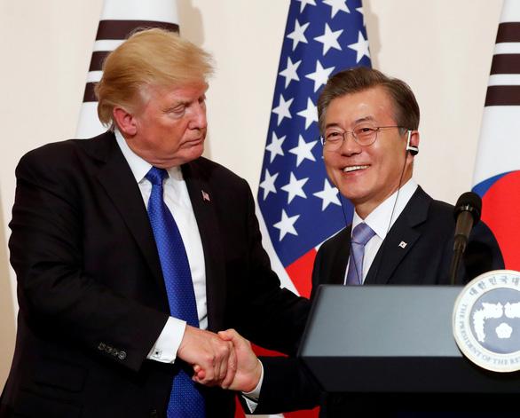 Tổng thống Donald Trump liệu có dùng quân sự với Triều Tiên? - Ảnh 1.