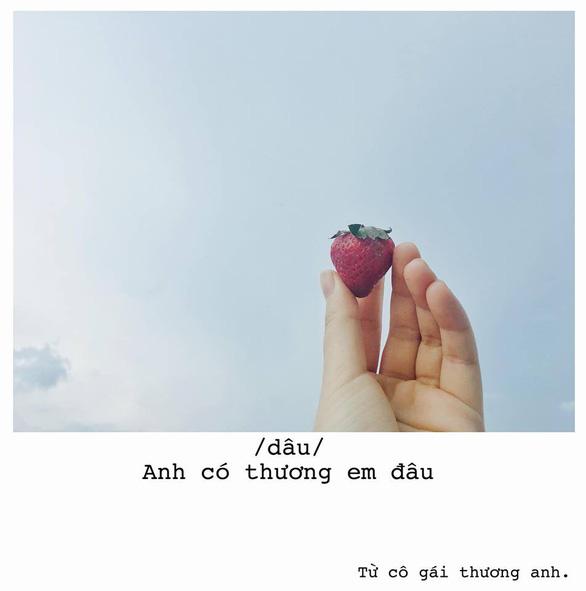 Bộ ảnh thả thính bằng trái cây của cô gái Sài Gòn - Ảnh 2.