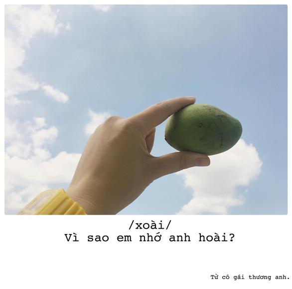 Bộ ảnh thả thính bằng trái cây của cô gái Sài Gòn - Ảnh 4.