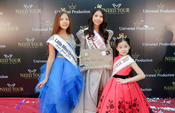 Hoa hậu hoàn vũ nhí 2018: 'Em chỉ chạy show vào dịp cuối tuần' - Ảnh 7.