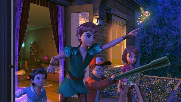 Cuộc hành trình mới của Peter Pan và nàng tiên Tinker Bell - Ảnh 7.