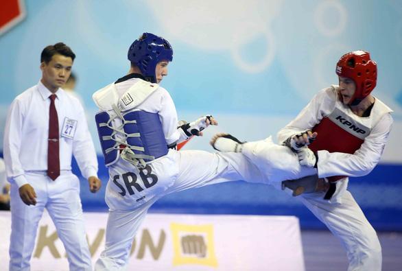 Những hình ảnh đầy cảm xúc tại giải Taekwondo người khuyết tật - Ảnh 1.