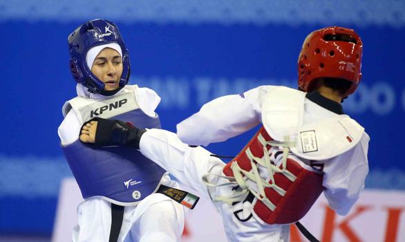 Những hình ảnh đầy cảm xúc tại giải Taekwondo người khuyết tật - Ảnh 3.