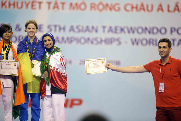 Những hình ảnh đầy cảm xúc tại giải Taekwondo người khuyết tật - Ảnh 13.