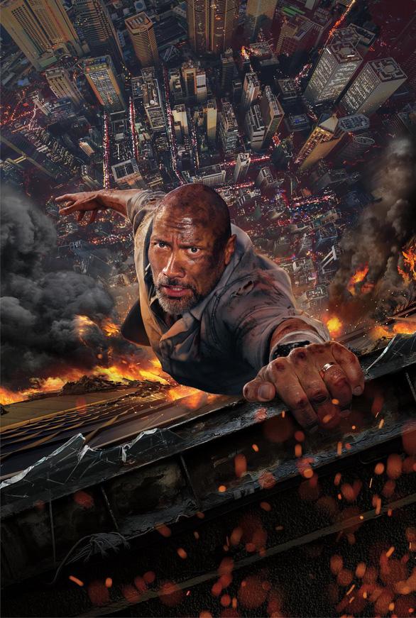 Trailer Skyscraper (Tòa tháp chọc trời) ngập tràn cảnh thảm họa - Ảnh 6.
