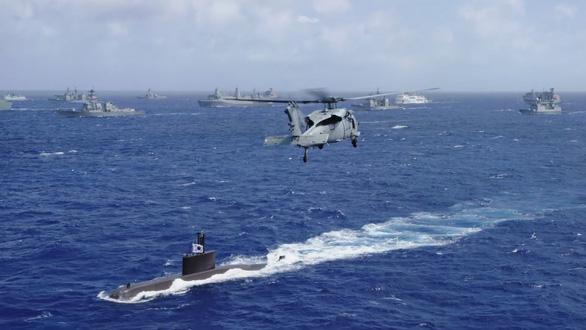 Mỹ không mời Trung Quốc dự tập trận vì quân sự hóa Biển Đông - Ảnh 1.