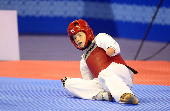 Những hình ảnh đầy cảm xúc tại giải Taekwondo người khuyết tật - Ảnh 11.