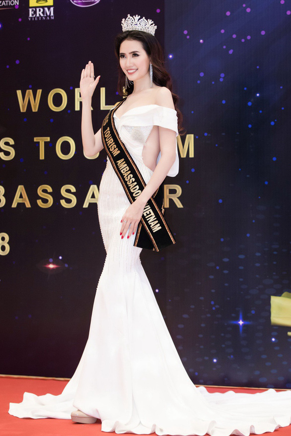 Phan Thị Mơ dự thi Hoa hậu đại sứ du lịch thế giới 2018 - Ảnh 2.