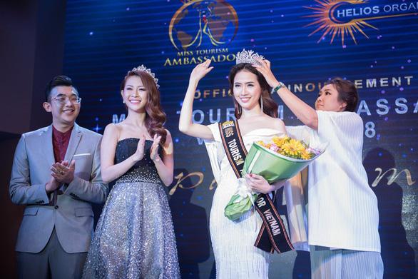Phan Thị Mơ dự thi Hoa hậu đại sứ du lịch thế giới 2018 - Ảnh 3.