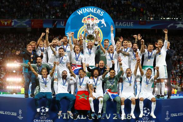 Bale lập siêu phẩm, Real Madrid ba lần liên tiếp đoạt Champions League - Ảnh 1.