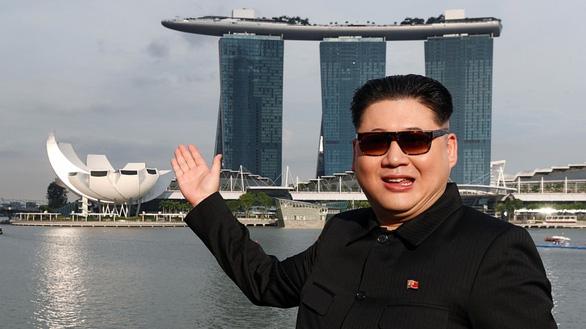 Dân Singapore ngạc nhiên thấy Kim Jong Un khoe quả sầu riêng - Ảnh 2.