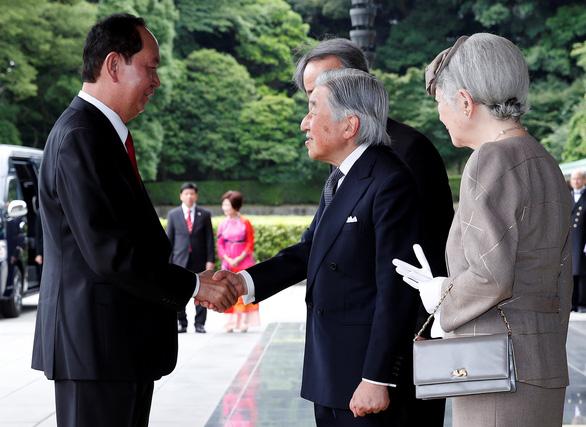 Truyền thông Nhật đưa tin trang trọng chuyến thăm của Chủ tịch Trần Đại Quang - Ảnh 2.