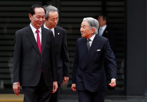 Truyền thông Nhật đưa tin trang trọng chuyến thăm của Chủ tịch Trần Đại Quang - Ảnh 3.